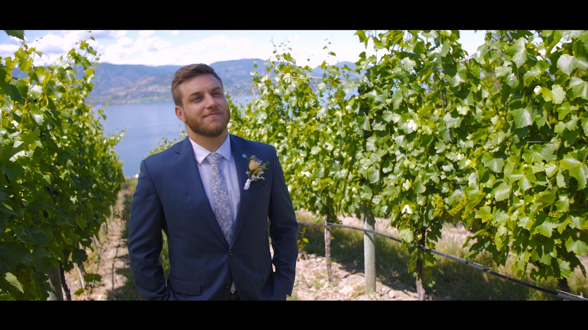 Groom in Vineyard