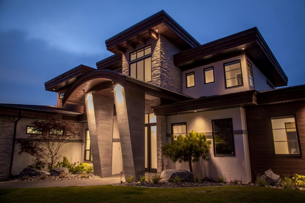 Luxury Living Night Scene
