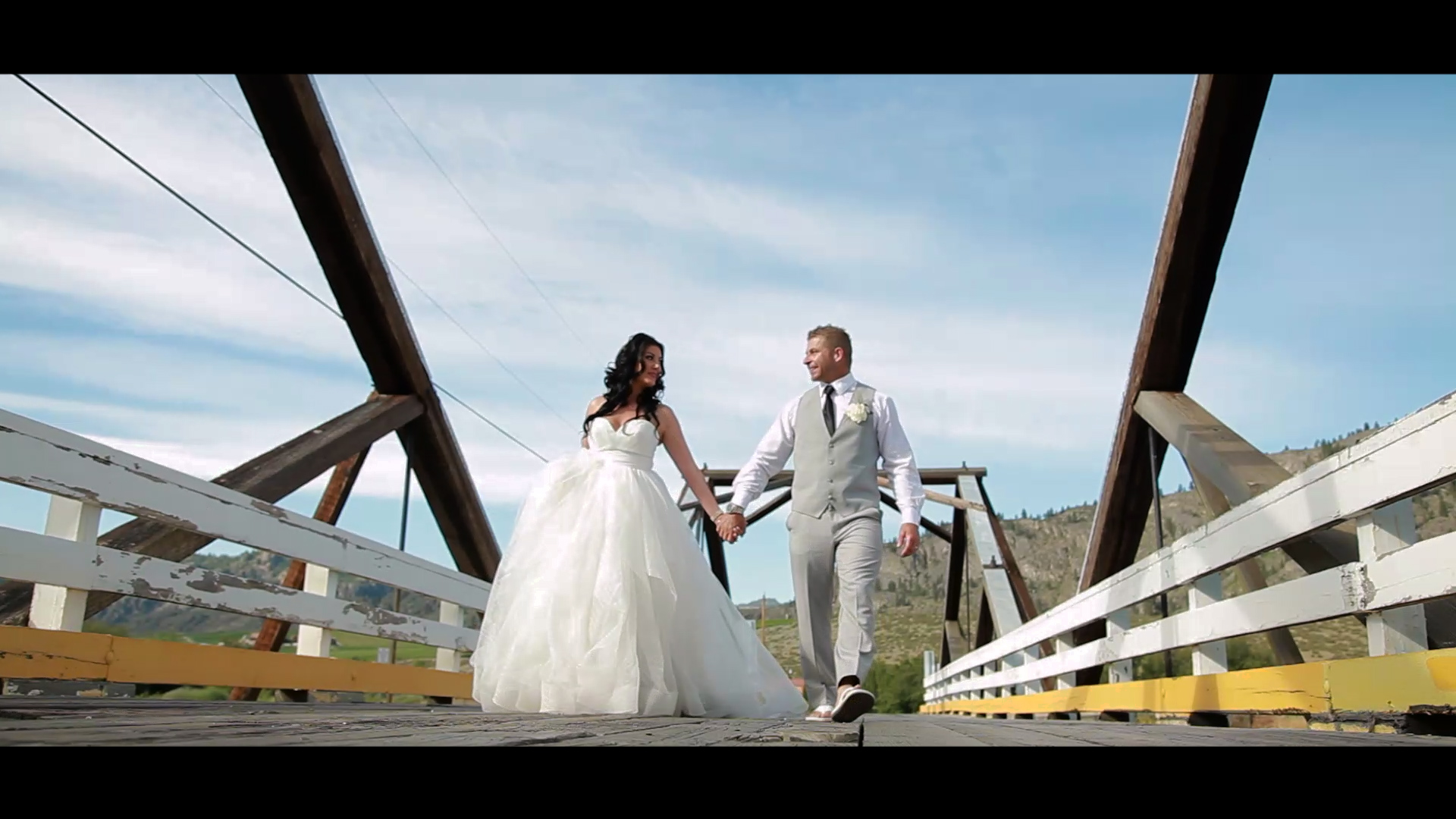 Bride and Groom - Bridge